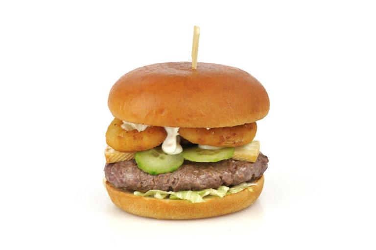 (R)onion Rings Burger