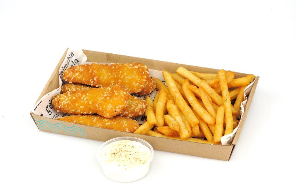 Strips n Fries box