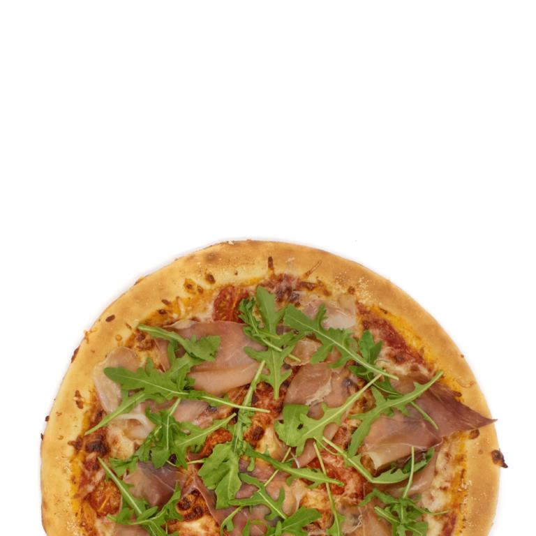 Prosciutto con rucola Pizza