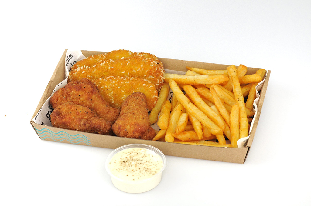 Alap csirke box