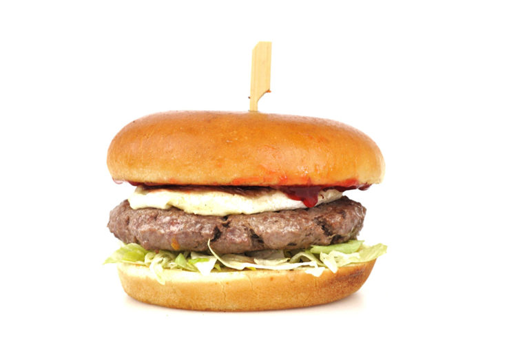 Camemberry Burger