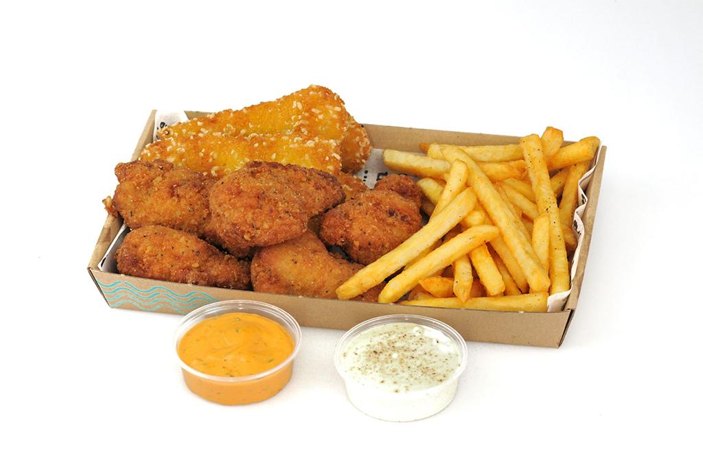 Éhes csirke box