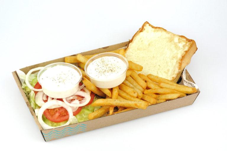 Extra sajt tál