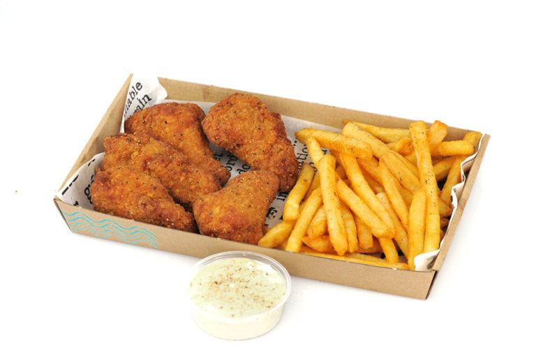 Wings n Fries box