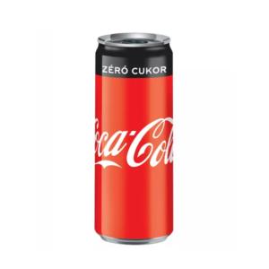 Coca-Cola Zero szénsavas üdítőital 0.33l