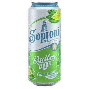 Soproni Radler 0% Lime-Menta (0,5l)