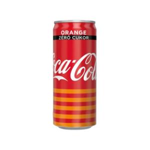 Coca-Cola Zero Lemon szénsavas üdítőital 0.33l