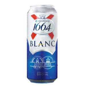 Kronenburg 1664 Blanc búzasör dobozos (0,5l)