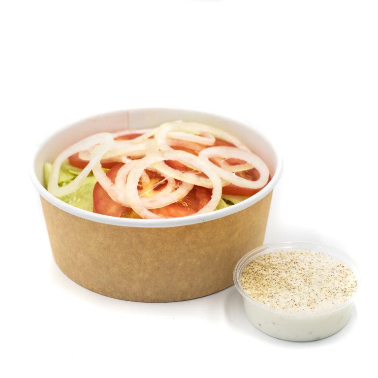 Salátaágy dresszinggel